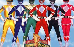 Vestidos como los Power Ranger