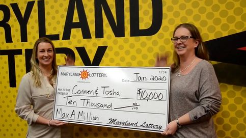 Dos compañeras de trabajo ganan la lotería en su descanso para comer