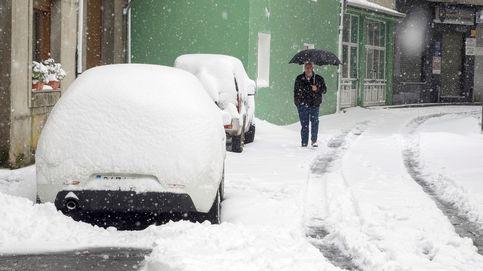 Las mejores fotos del temporal de nieve en Cantabria, Burgos y Asturias