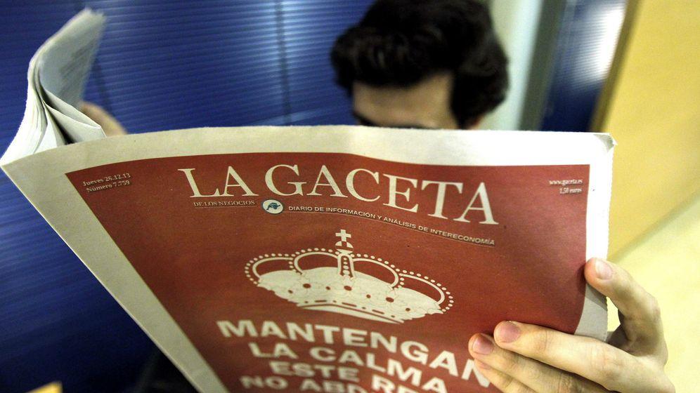 Foto: El diario 'La Gaceta', de Intereconomía, cerró el 26 de diciembre de 2013. (EFE)