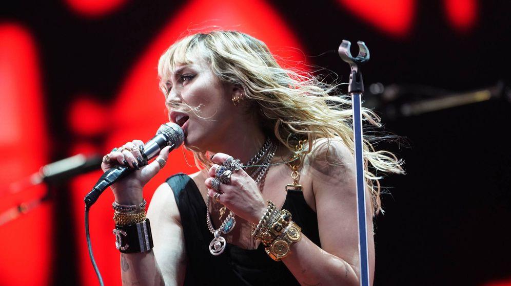 Foto:  Miley Cyrus, más rockera que nunca. (Cordon Press)