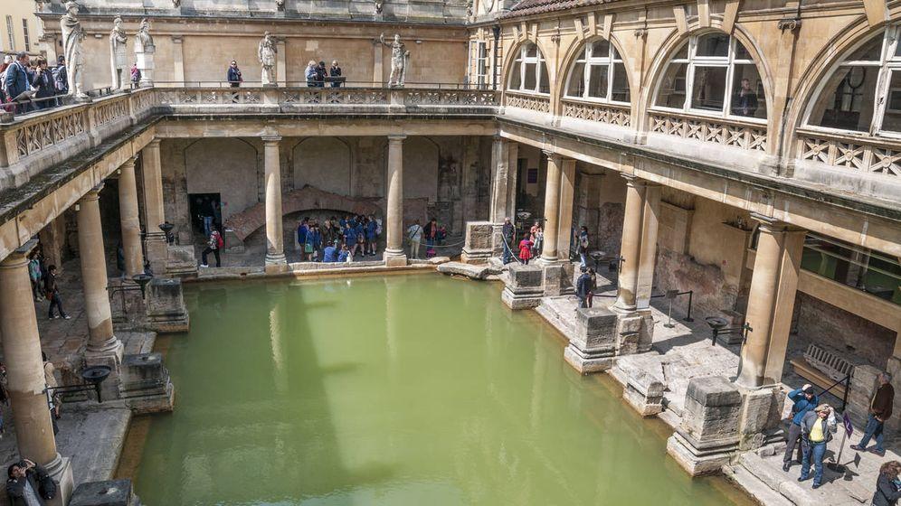 Foto: Baños romanos en Bath, Reino Unido, similares a los edificados en Baia. (iStock)