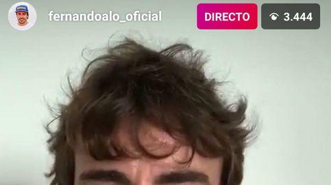 La guardia baja de Fernando Alonso y su teléfono móvil hecho polvo