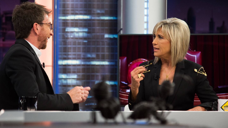 Pablo Motos y Julia Otero, en 'El Hormiguero'. (Antena 3)