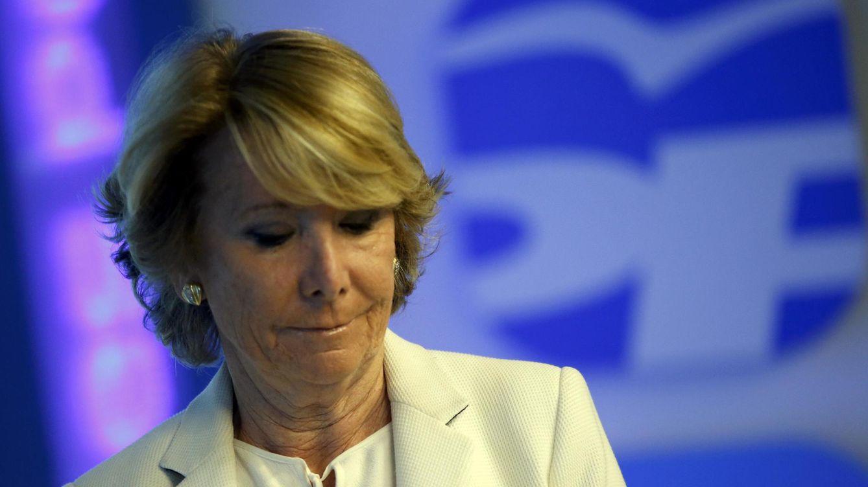 Foto: La presidenta del PP de Madrid, Esperanza Aguirre. (Reuters)