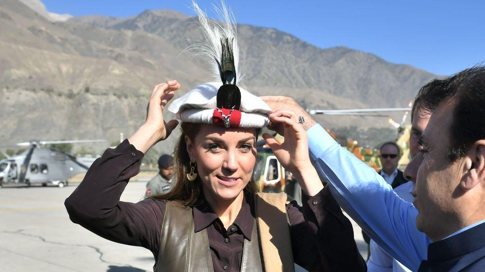 Foto: Kate Middleton, en el norte de Pakistán. (EFE)