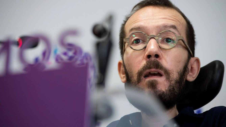 Foto: Pablo Echenique durante una rueda de prensa. (EFE)