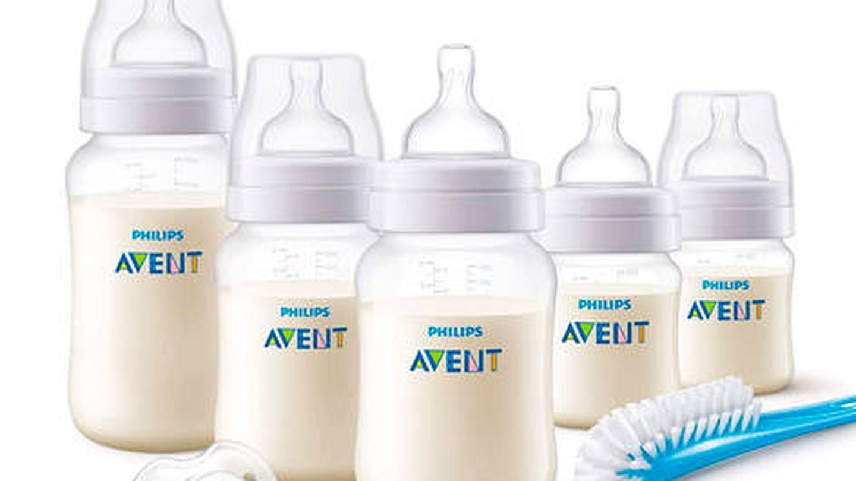 Set de 5 biberones para recién nacido Phillips Avent