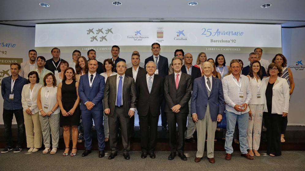 """Foto: CaixaBank, la Fundación Bancaria """"la Caixa"""" y el COE reúnen a los medallistas de Barcelona '92"""