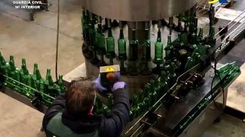 Catorce detenidos y 300.000 botellas de whisky falso intervenidas