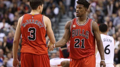 Los Bulls, sin Gasol por lesión, se salvan de la mano de McDermott y Mirotic