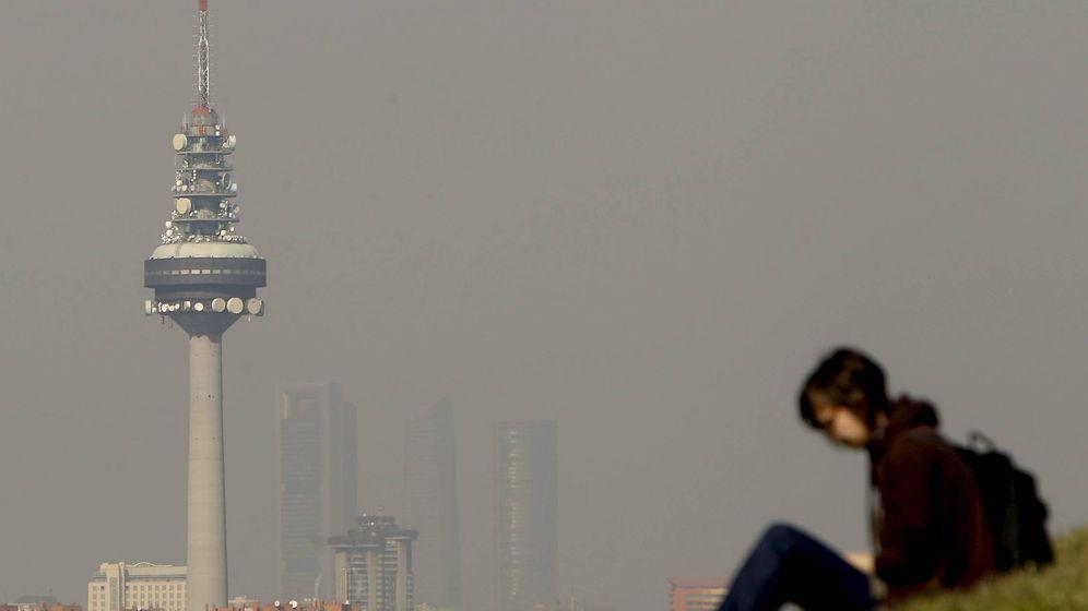 Foto: Contaminación en Madrid. (EFE)