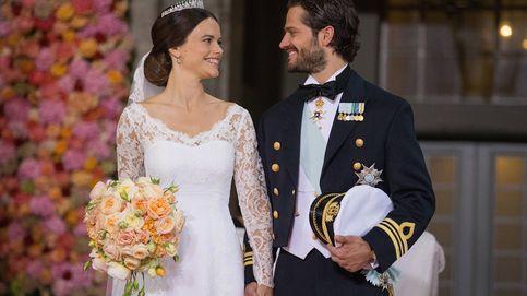 Los 7 vestidos más bonitos de la boda de Carlos Felipe y Sofía hace hoy 5 años