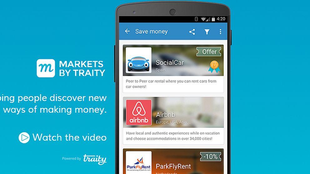 Todas las 'apps' de consumo colaborativo se citan en Markets