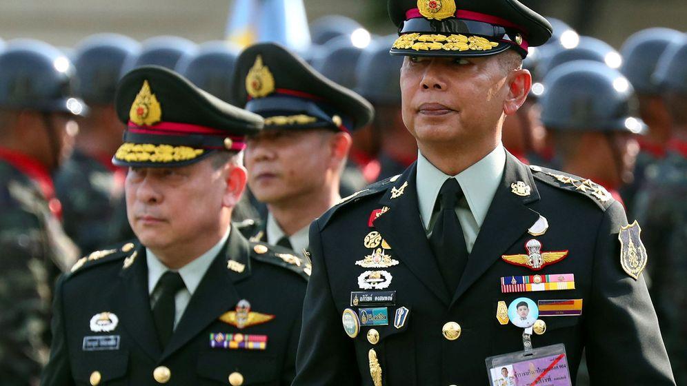 Foto: Militares tailandeses en Bangkok, el pasado septiembre. (Reutes)