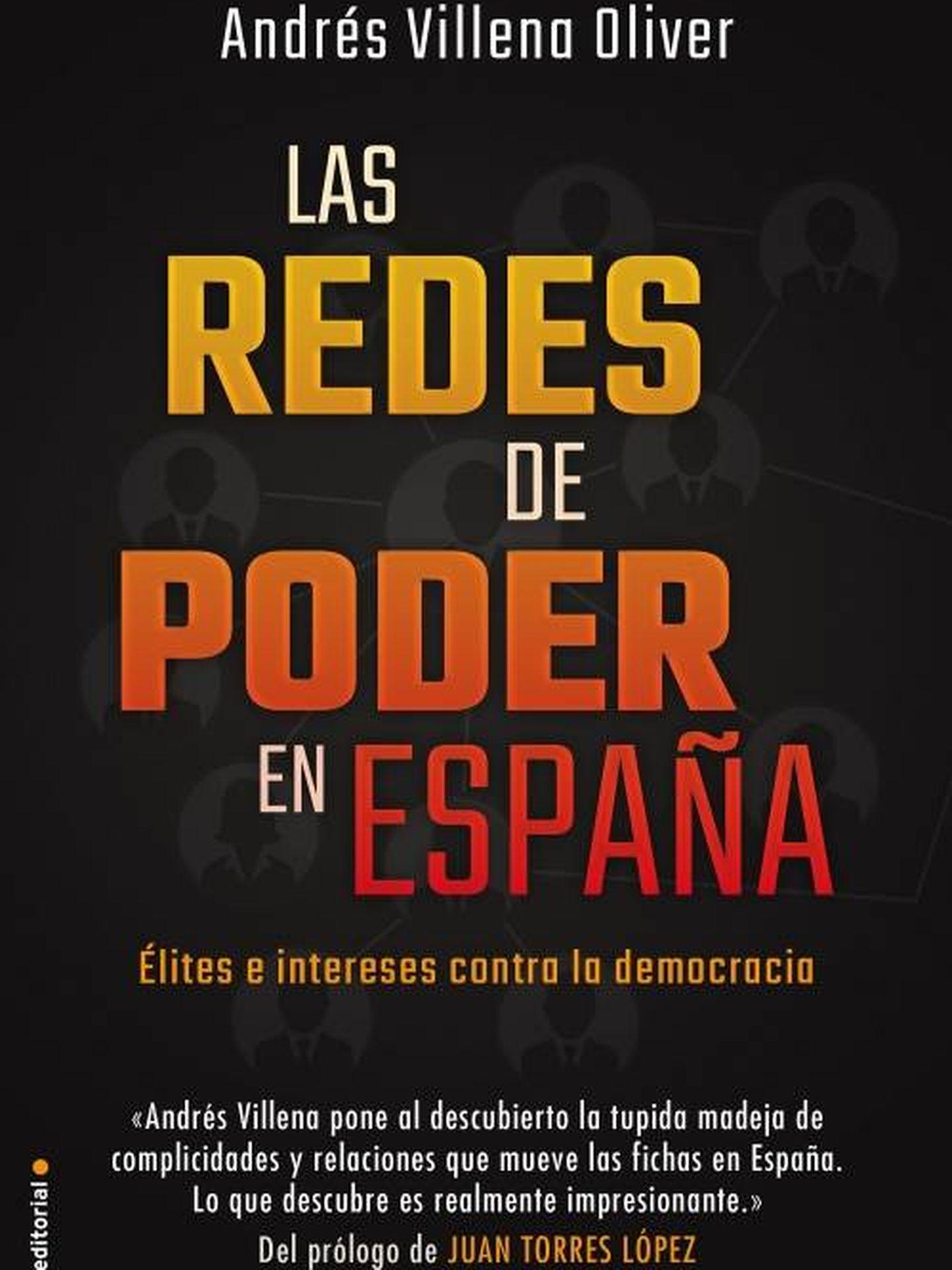 Portada del libro de 'Las redes de poder en España'