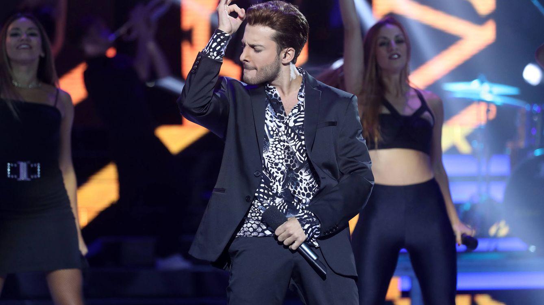 Foto: Blas Cantó en la piel de Justin Timberlake (Atresmedia)