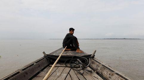 La frontera entre India y Bangladesh