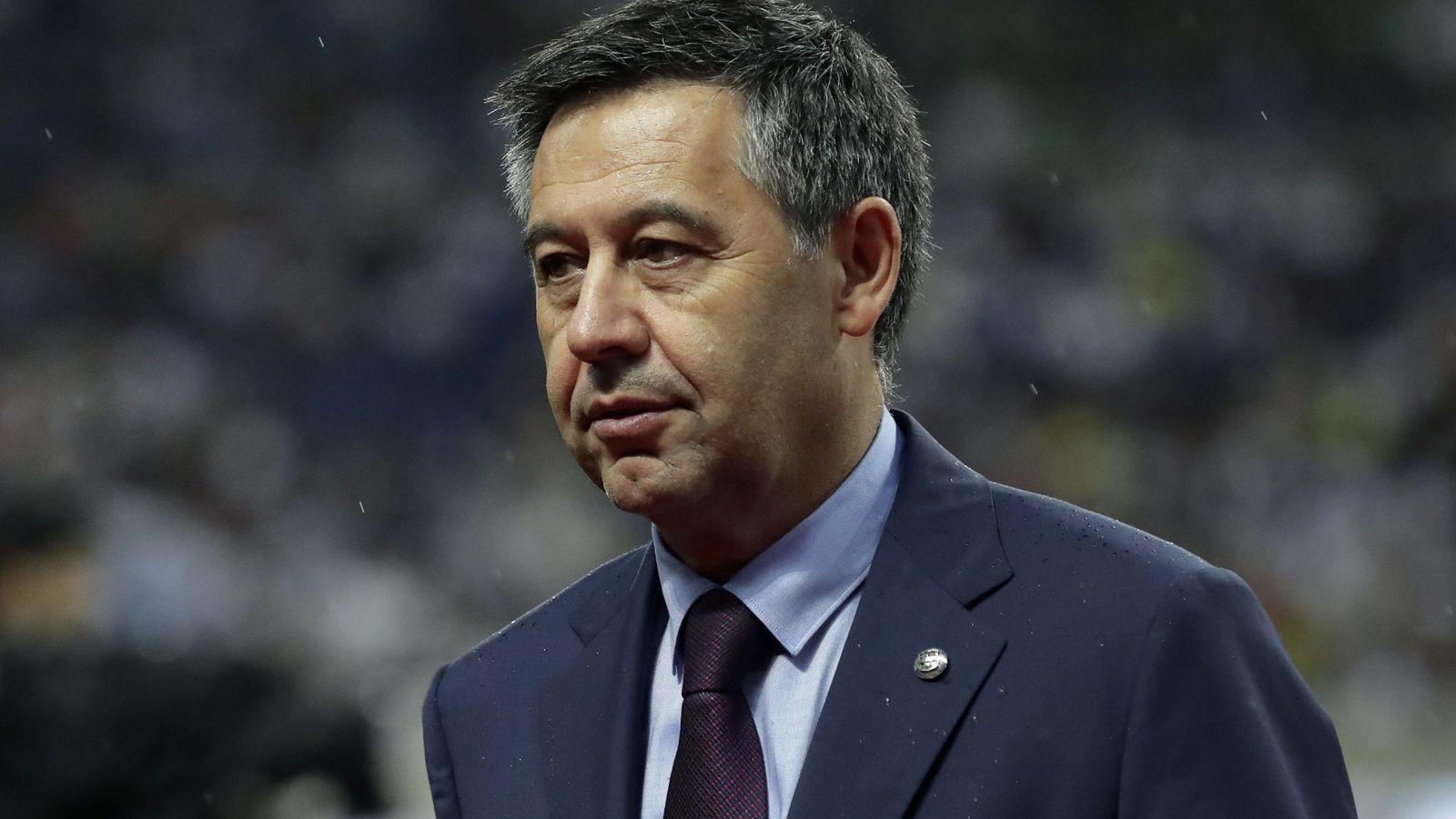 Josep Maria Bartomeu queda en libertad con cargos tras negarse a declarar