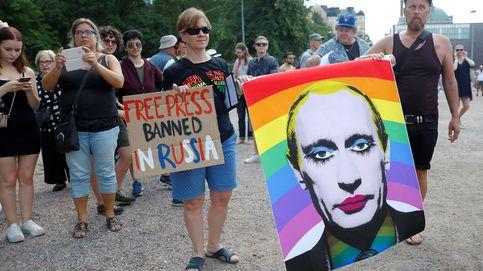 Protestas en Helsinki por la reunión entre Putin y Trump