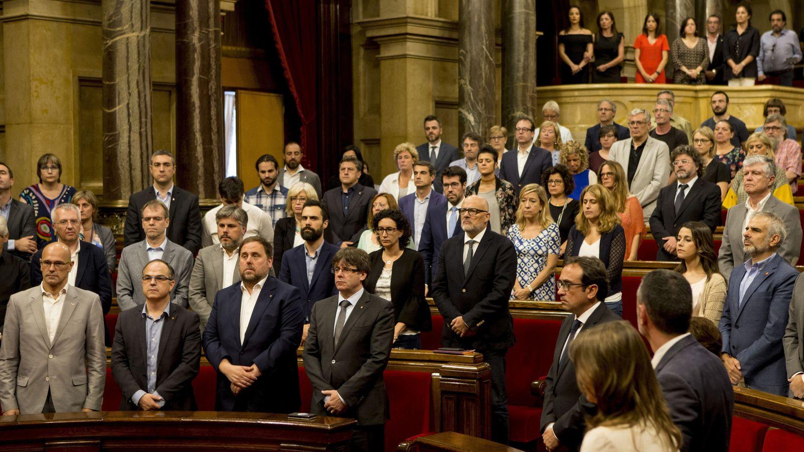Foto: Imagen del Parlamento de Cataluña. (EFE)