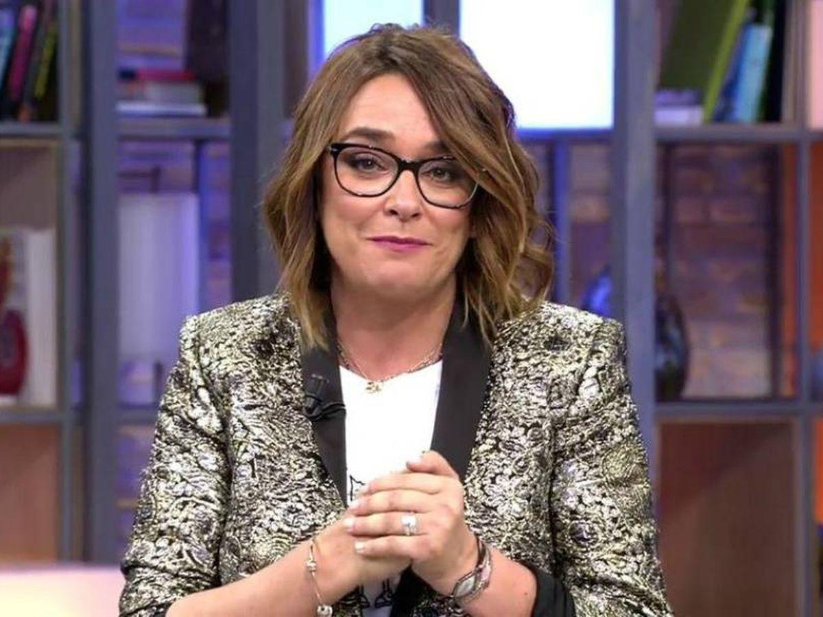 Foto: Toñi Moreno, en 'Viva la vida'. (Telecinco)