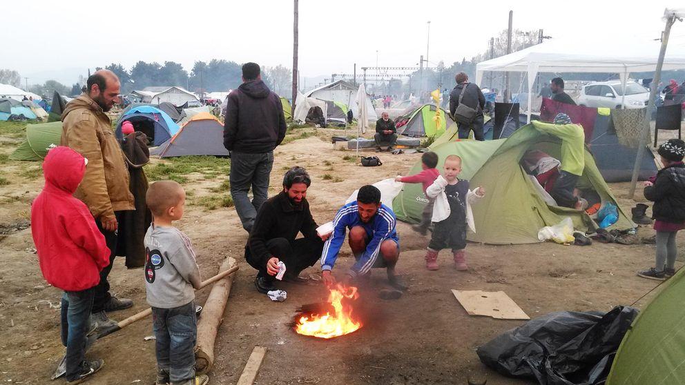 Idomeni, el patio trasero de Europa