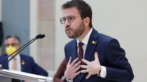 Aragonès falla en su intento de llegar a la Generalitat por los recelos de JxCAT