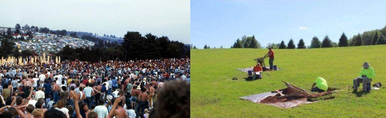 ¿A la caza de un yacimiento 'hippie'? Un equipo de arqueólogos en Woodstock 69