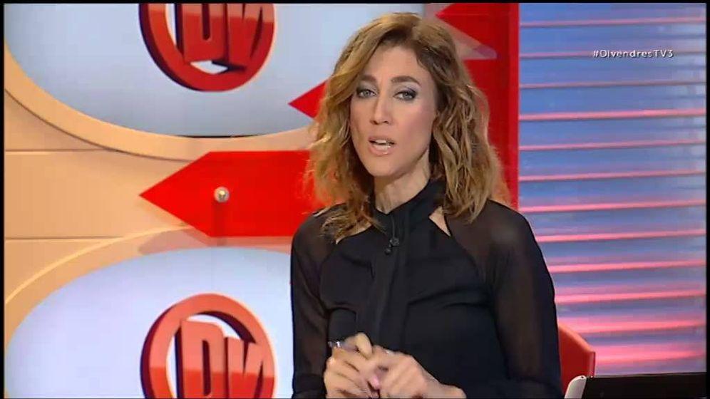 Foto: Helena García Melero en 'Divendres'.