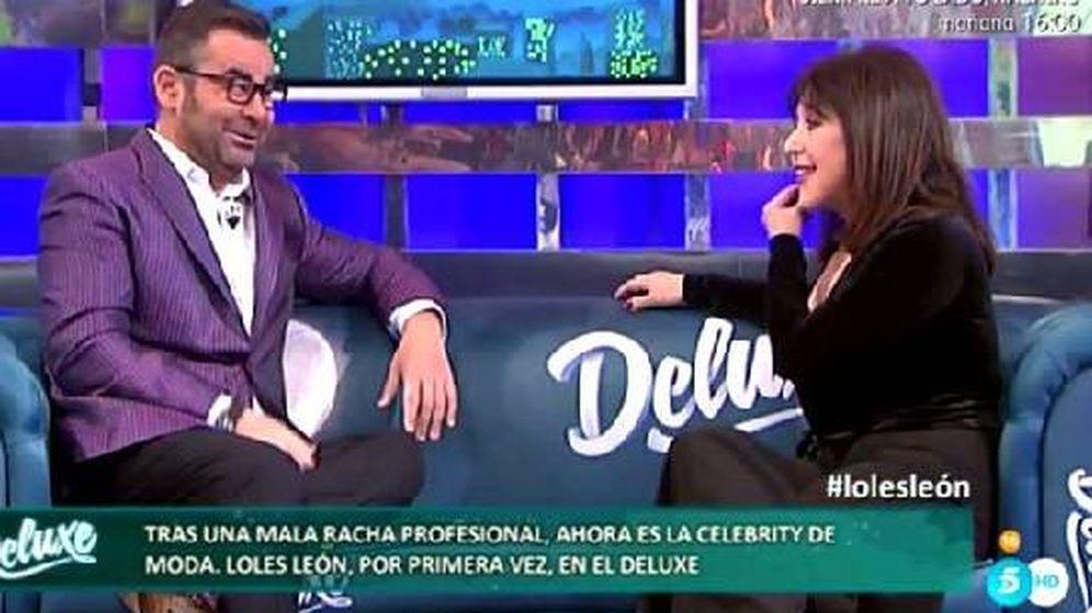 Foto: Loles León acudió a 'Sálvame Deluxe'