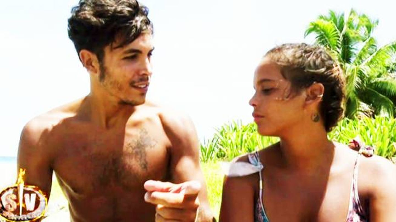 Kiko y Gloria Camila en 'Supervivientes'. (Mediaset España)