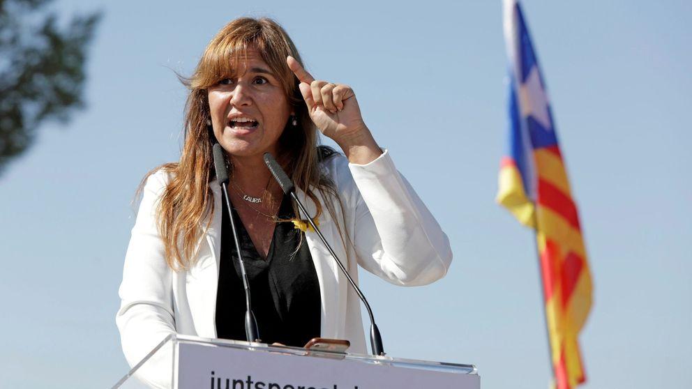 Borràs avisa al PSOE de que sin JxCat y Torra no puede haber solución al conflicto
