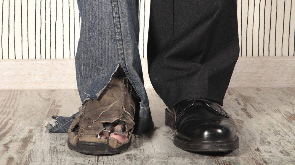 Foto: La desigualdad entre españoles ricos y pobres cae tras la crisis. (iStock)