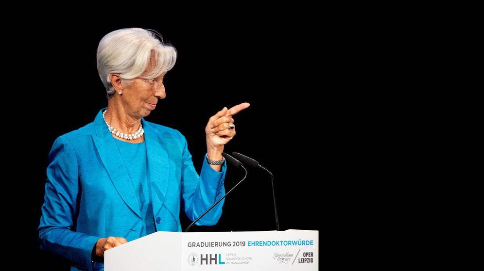 Foto: La próxima presidenta del BCE, Christine Lagarde, en un acto en Alemania. (Reuters)