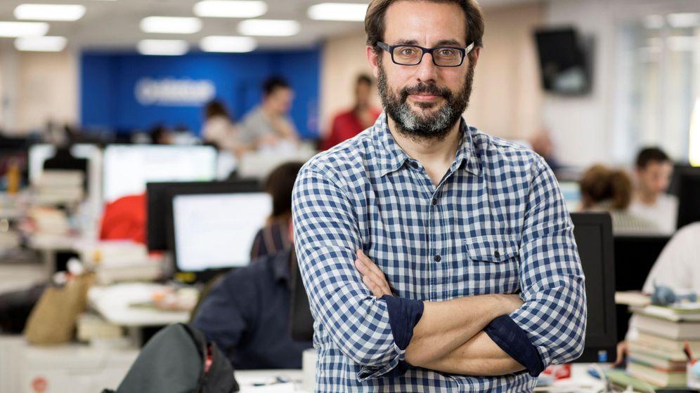 Foto: El periodista de 'eldiario.es' Andrés Gil, candidato para presidir RTVE. (EFE)