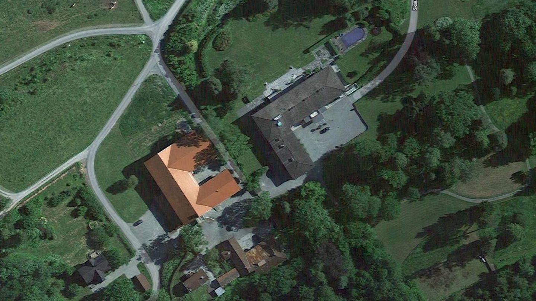 Vista aérea de Skaugum. (Google)