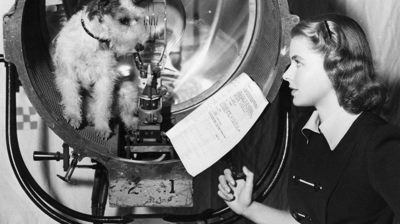 Ingrid Bergman, durante un rodaje en 1939. (EFE)