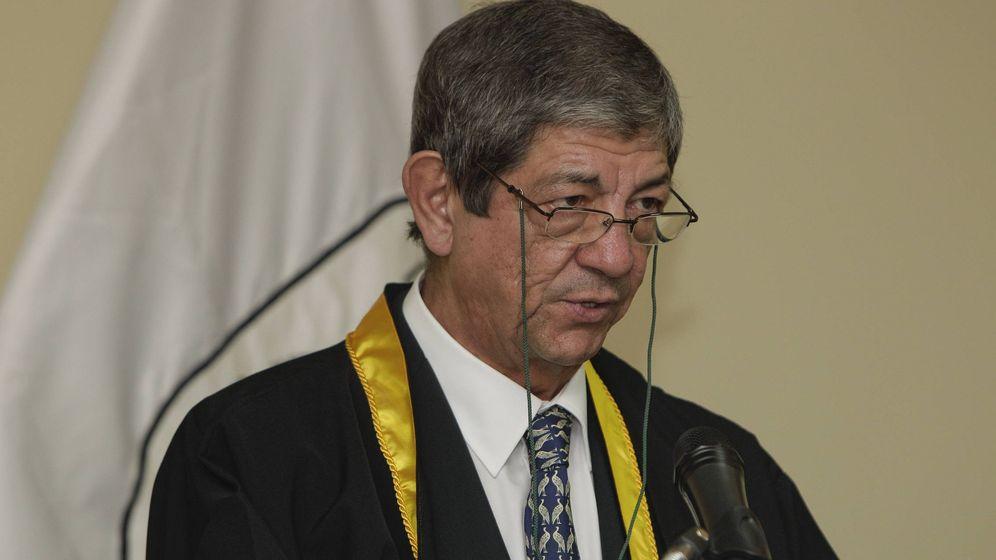 Foto: El editor español Jesús García Sánchez, más conocido como Chus Visor, centro de la polémica (EFE)