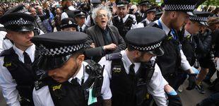 Post de Detenidas 16 personas en Londres por protestar contra las restricciones sanitarias