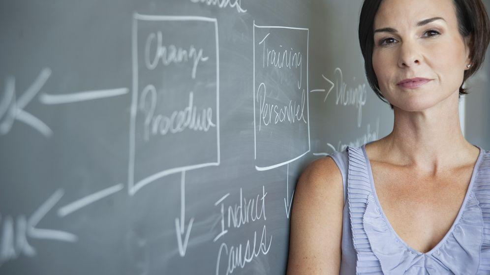 Foto: Marina propone una carrera de siete años para ser profesor en España. (Corbis)
