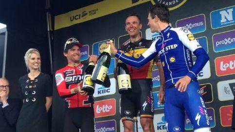 Gilbert se lleva la gloria en el Tour de Flandes con Sagan por los suelos