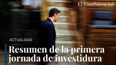 Resumen de la primera sesión de investidura de Pedro Sánchez