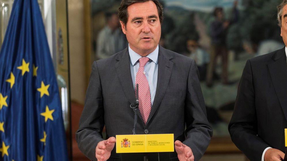 Foto: El presidente de CEPYME Antonio Garamendi