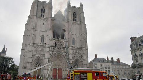 Un detenido en la investigación por el incendio de la catedral de Nantes