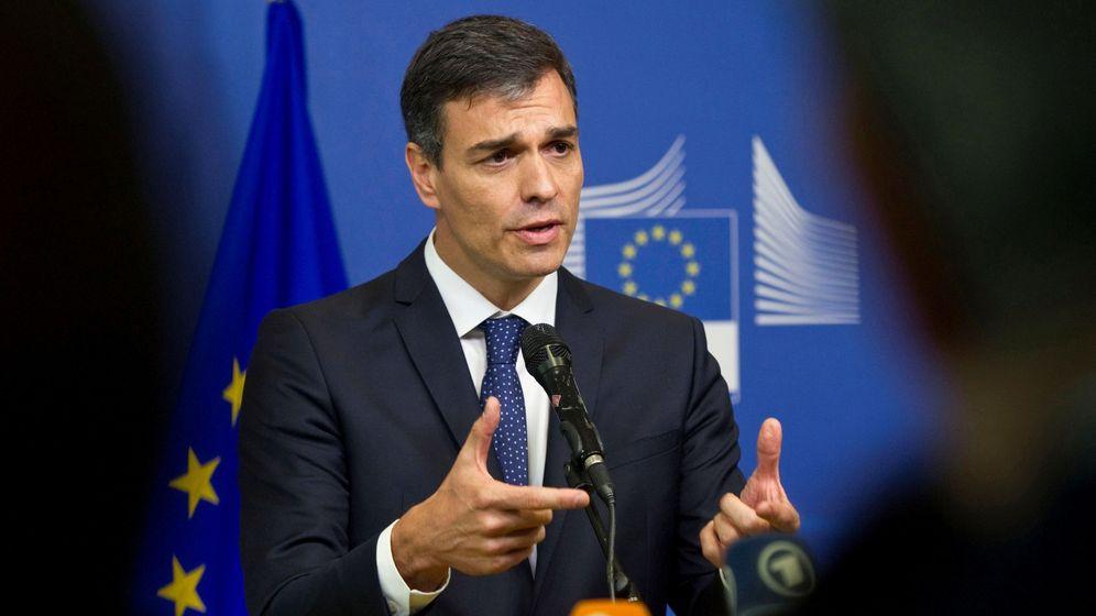 Foto: El presidente del Gobierno, Pedro Sánchez, en Bruselas. (EFE)