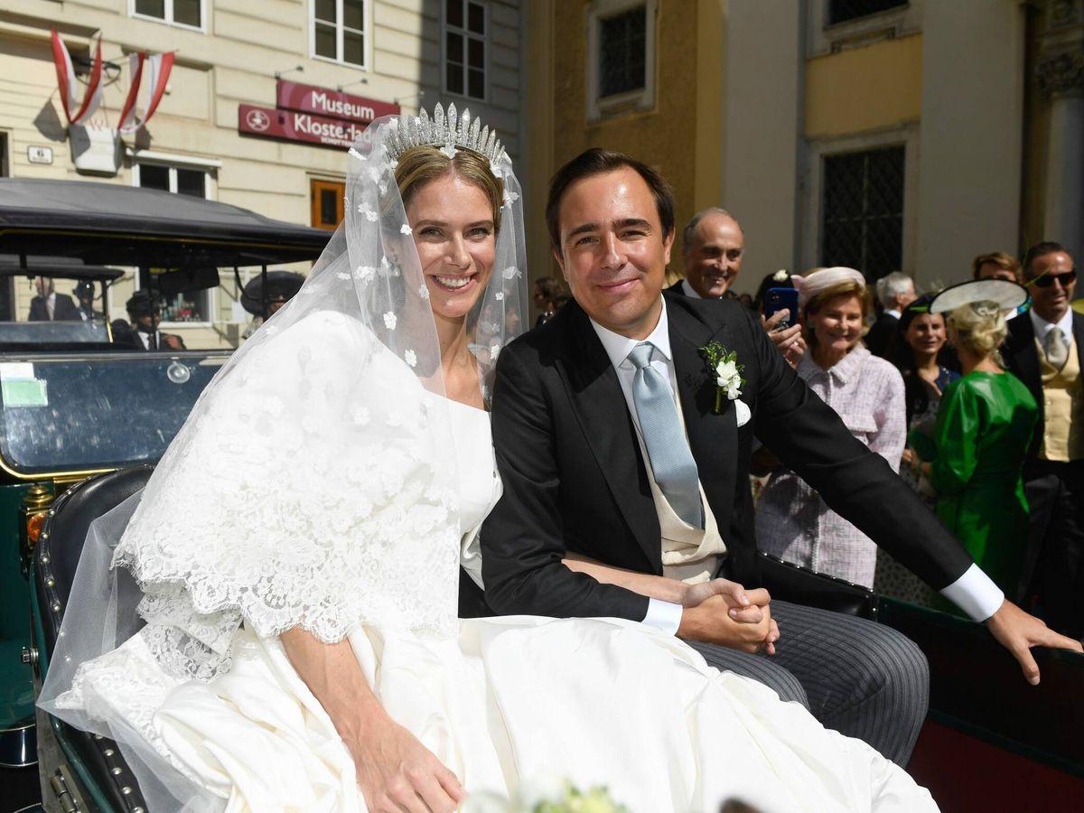 Foto: Boda de la princesa Anunciata de Liechtenstein y Emanuele Musini. (CP)