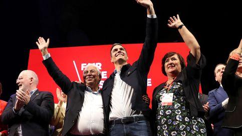 Sánchez endurece los ataques a Cs: no son liberales y están vacíos de principios