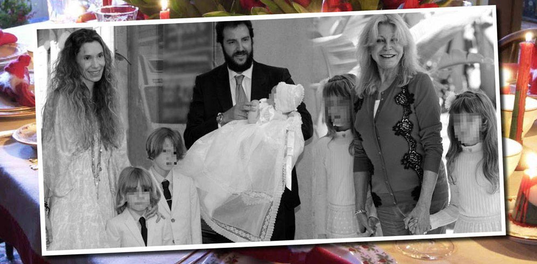 Foto: La familia Thyssen al completo en un fotomontaje realizado en Vanitatis