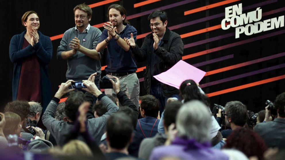 Iglesias, Colau y Domènech defenderán la soberanía de Cataluña en la Diada
